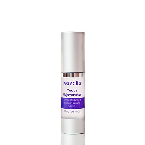 Youth Rejuvenator Anti Aging Collagen Boosting Serum With Copper Peptide, Matrixyl, Hyaluronic Acid - Anti Wrinkle Complex Serum for Face and Eye Area - Non Comedogenic - 15 Milliliter