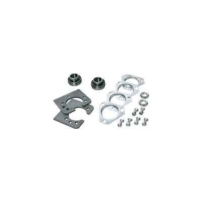 Azusa Go-Kart Live Axle Bearing Kit for 1in  Axle with 3-Hole Flangettes