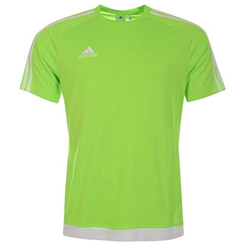 Estro maniche 3 T Adidas a uomo Climalite Green a Technology shirt corte Solar righe HwHzqYt