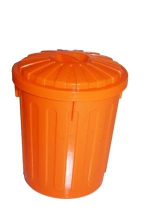 Funky Coloured Small Lidded Plastic Storage Bins, Available In Blue, Pink,  Green Or Orange: Amazon.co.uk: Kitchen U0026 Home