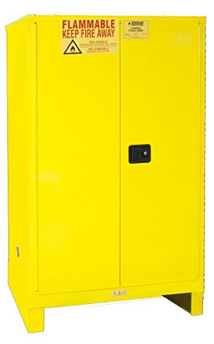 Durham Leg - Durham 1090ML-50 Flammable Safety Cabinet with 2 Manual Door and Legs, 43