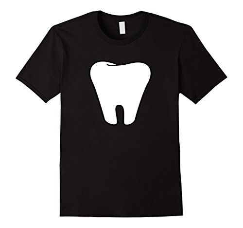 Mens Tooth Fairy Matching Halloween Couples Costume T-shirt Large Black