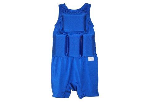 Flotation Swimwear (My Pool Pal Boy's Flotation Swimsuit, Royal Blue, Small)