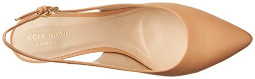 Cole Haan Women's Medora Sling Pump Nude Leather clearance huge surprise oHJ6rC1