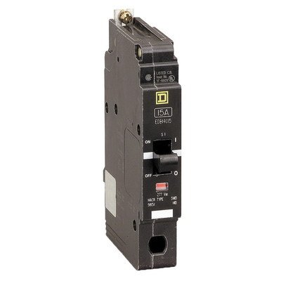 Square D EDB14020 20A Circuit Breaker 277/240V 1 Pole EDB-14020 SqD 20 Amp (Sqd Breaker)