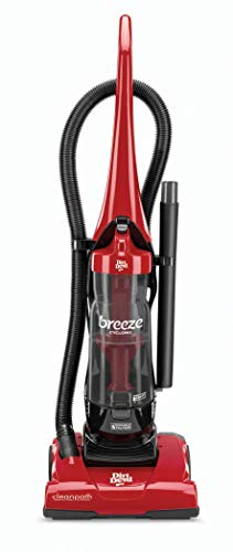 Dirt Devil Vacuum Cleaner Breeze Cyclonic Corded Bagless Upright Vacuum UD70105 (Renewed)