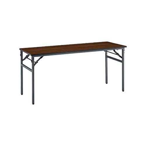 コクヨ(KOKUYO) 長方形テーブル KT-N120シリーズ W1500×D450×H700mm KT-NS123 ローズウッド B076542WZ4ローズウッド
