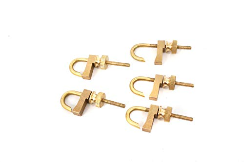 (Yinfente Violin Tool brass hold repair Violin crack clamp Luthier tool Violin Making Adjustable Size (1pcs))