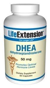 Prolongation de la vie, la DHEA (déhydroépiandrostérone) 50 mg, gélules, 60-Count