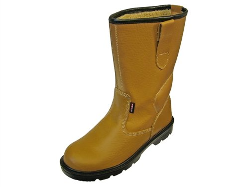 Scan Texas Dual Density Lined Rigger Boot Tan 10