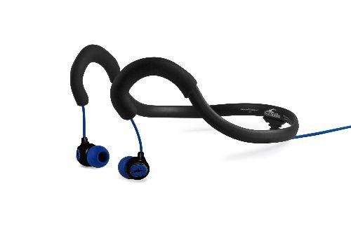 Surge Sportwrap Waterproof In-Ear Headphones (Black/Blue) DISCONTINUED BY MANUFACTURER - H2O Audio IEN2-BK