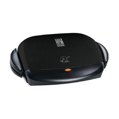 George Foreman GRP4B Next Grilleration 72 Square Inch Black Removable Plate Grill