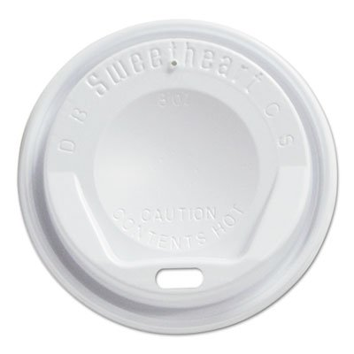 SCCLGX8R1 - Gourmet Dome Sip-through Lids, 8oz Cups, (Dome Sip Lid)
