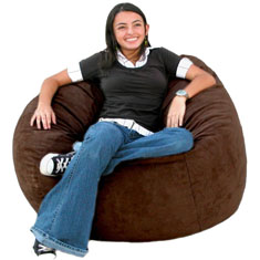 Cozy Sack Bean Bag Chair - Medium 3'