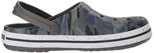 crocs Grey Mehrfarbig Graphic Clogs Crocband Erwachsene Slate Iii Unisex Camo v6wrUv