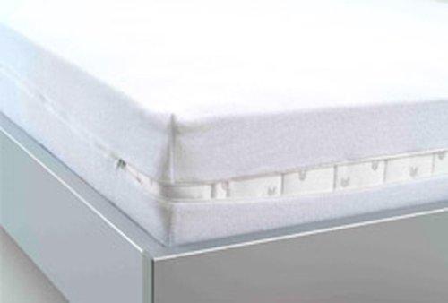 1 Matratzen-Schutzbezug mit Reißverschluß Matratzenschonbezug Matratzenschutz Nässeschutz passend für 100x200 cm.