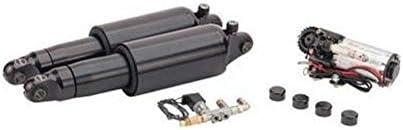 Arnott Adjustable Air Ride Mono Shock Suspension Kit Black Harley Softail 18-20