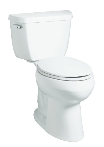 KOHLER K-4298-0 Highline Comfort Height Elongated Bowl, White (Ada Compliant Elongated Bowl)