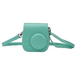Fujifilm Instax Mini 8 Mini 8+ Mini 9 Camera Case, Yoption Classic Vintage Pu Leather Mini 8/8+ Mini 9 Camera Case Bag for Fujifilm Instax Mini 8 Mini 8+ Mini 9 Instant Film Camera