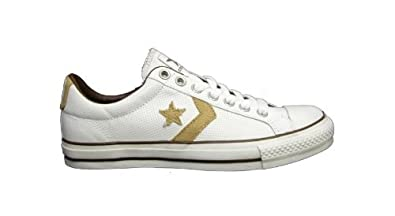 c732f9f8dfb STAR PLAYER COURT OX WHITE TAN PINE - SIZE - 10  Amazon.co.uk  Shoes ...