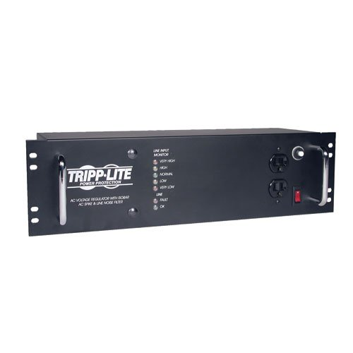 Tripp Lite LCR2400 Line Conditioner 2400W AVR Surge 120V 20A 60Hz 14 Outlet 12-Feet Cd by Tripp Lite