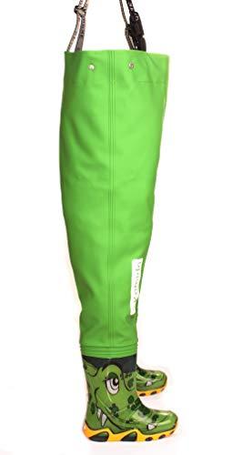 Jugendliche Kinder Brust Wathose 35 EU Schnalle Nexus 10 Modelle 3Kamido Kinderwathose verstellbare Taille strapazierf/ähige Hosentr/äger Kinder Angeln Stiefel 20