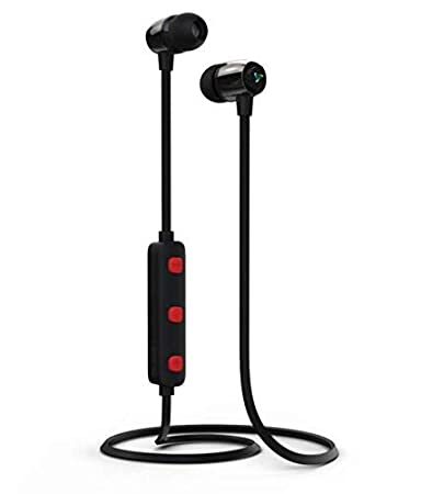 4a13ce766b0 Rny Syska Wireless Rechargeble Bluetooth Earphone Syska H-15 Headset with  Magnet System with inbuilt