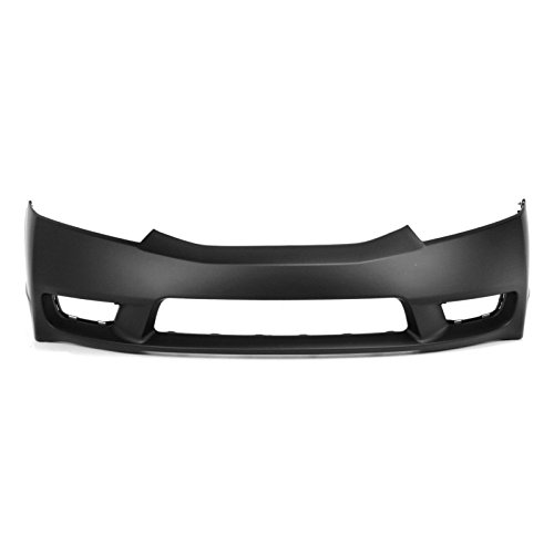 MBI AUTO – Painted To Match, Front Bumper Cover Fascia for 2009 2010 2011 Honda Civic Sedan 09 10 11, HO1000266