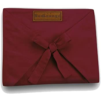 BedLounge Replacement Cover - Regular Size, 100% Cotton, Burgundy Color
