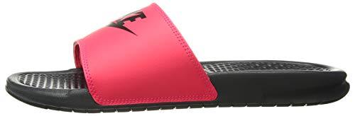 Nike Men's Benassi Just Do It Sandal red Orbit/Black - Anthracite 11 Regular US by Nike (Image #5)