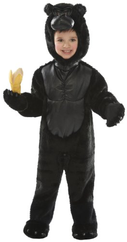 Just Pretend Kids Gorilla Animal Costume, (Gorilla Costumes Child)