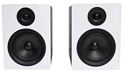 Rockville 2-Way 250W Active/Powered USB Studio Monitor Speakers Pair