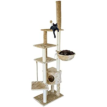 Amazon.com: Árbol para gatos TRIXIE Santiago ajustable, 110 ...
