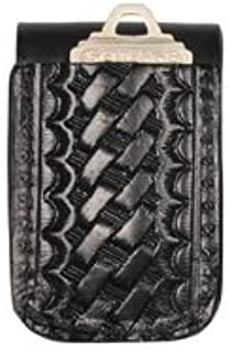 product image for Boston Leather Double Wide Belt Keeper with Key Slot