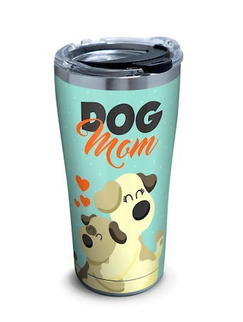 (Tervis Dog Mom Stainless Tumbler Wrap With Lid,20 oz)