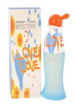 New - I Love Love by Moschino - Eau De Toilette Spray 3.4 oz - (I Love Love For Women Eau De Toilette)