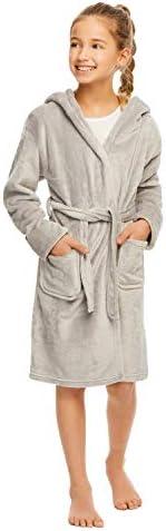 Girls 3D Character Fleece Sleep Robe - Soft & Cozy Kids Bath
