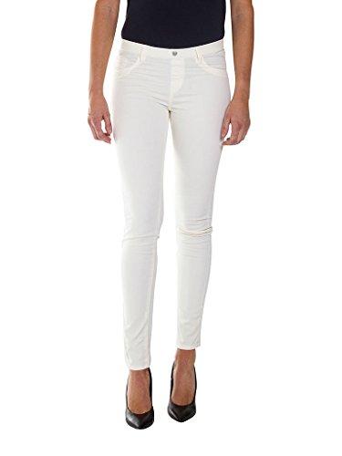Mujer Skinny Vaqueros Carrera 013 Blanco para Jeans ESIFqwv