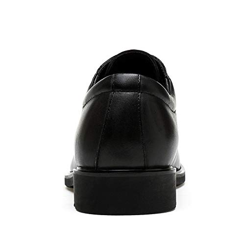 Scarpe Fang Primavera shoes Color Estate in 41 modello Classic Classic da 2018 Oxford Dimensione lavoro uomo EU coccodrillo Nero da Nero gfgwI