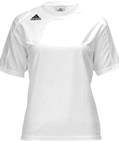 Adidas Women's Squadra Ii Short-Sleeve Jersey Top, White,...
