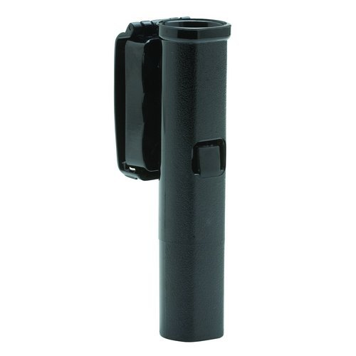 [Monadnock 26-Inch Friction Lock Front Draw Baton Holder with 360 Degree Swivel (Low Carry) Clip-On Plain (Black)] (Monadnock Friction Lock)