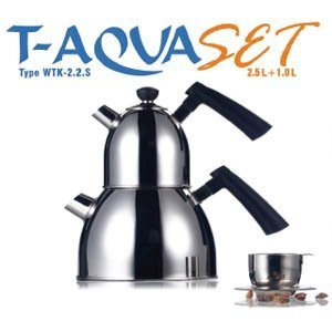 Amazoncom Beem T Aqua Set Stainless Steel Water And Tea Kettle