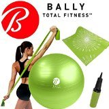bally-fitness-yoga-wellness-kit-65cm-ball-pump-excercise-mat-stretch-resistance-band
