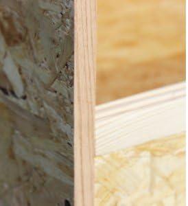 Hogar Madera Terrario 120 x 60 x 60 cm, madera Terrario de alta calidad osb3 Madera para Reptiles, raíles de guías para cristal y madera, con interfaz laminada bordes: Amazon.es: Productos para mascotas