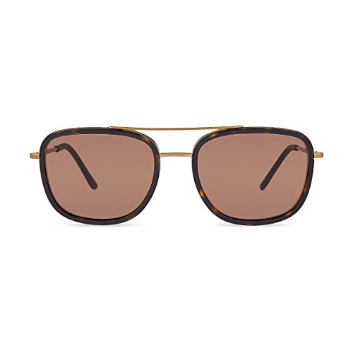 Soleil Lunettes Brushed Mixte Brown Or Gold de BURBERRY Light EPzqFWZz