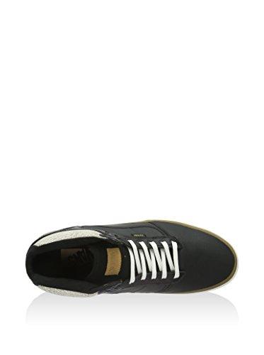 Fourgonnettes Hommes Bedford Otw Mi-haut Chaussures (m7, (crackle) Noir / Guimauve)