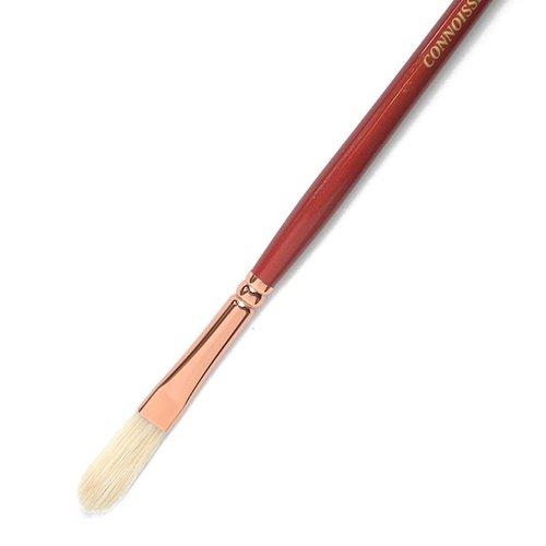 Connoisseur Hog Bristle Brush, #6 Long Filbert by Connoisseur