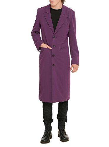 XXX RUDE Purple Trench Coat