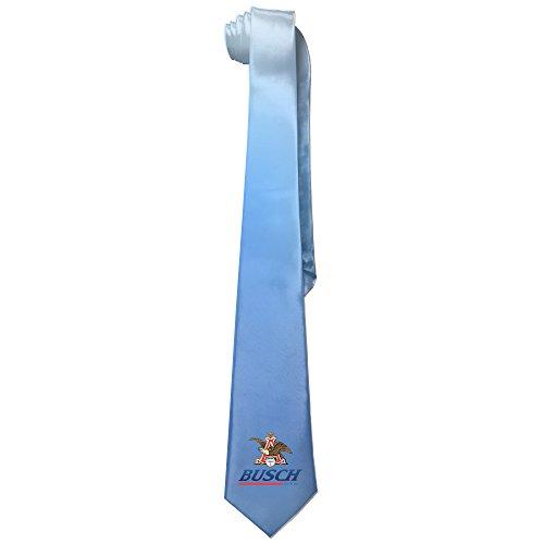 Sushi Maker Costume (Ggift Busch Logo Men's Fashion Business Solid Necktie Tie)