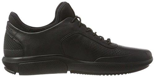 ECCO Women's Intrinsic 3 Fashion Sneaker, White (White), 5.5 M US Black (1001black)